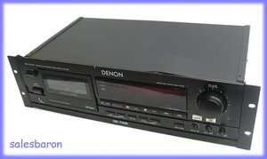 Denon DN 790 R Professional Stereo Cassette Deck Tape Player Recorder