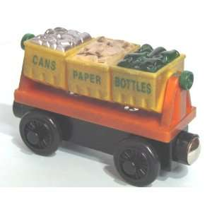 RECYCLING CAR THOMAS & FRIENDS WOODEN TRAIN LOOSE ITEM NEW