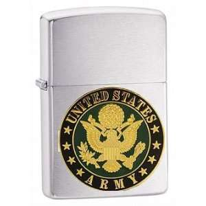 Zippo Custom Lighter   USA American Army Seal Military Branch Emblem