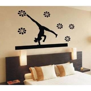 Easy instant decoration wall sticker wall mural Gym Gymnastics life