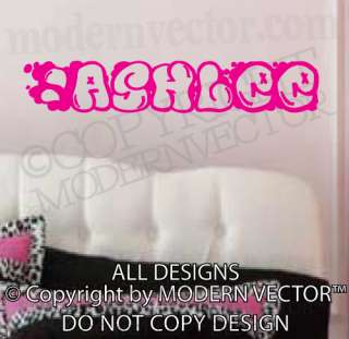 Personalized Girls Boys Name Vinyl Lettering Wall Decal