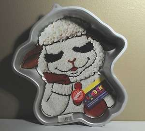 Wilton Cake Pan Lamb Chop & friends 1993 Shari Lewis