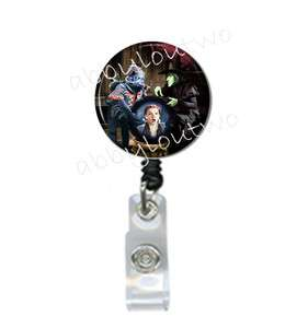 Retractable ID Badge Holder Wizard of Oz Flying Monkeys