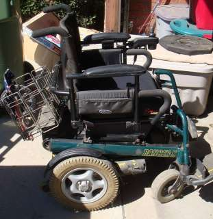 Ranger X Electric Wheelchair