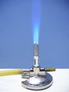 MICRO BUNSEN BURNER w/ ADJUST GAS VALVE / LP / HUMBOLDT
