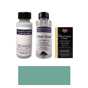 2 Oz. Medium Turquoise Metallic Paint Bottle Kit for 1970