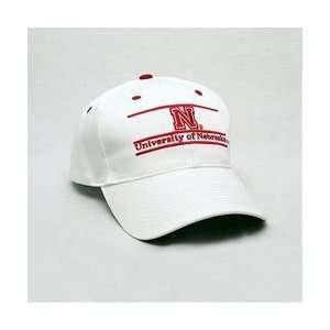 Nebraska Cornhuskers Classic Adjustable Bar Hat   White