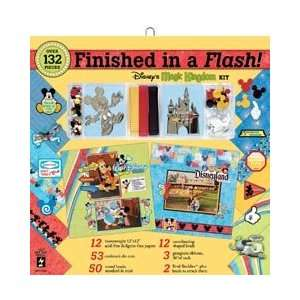 New   Finished In A Flash Page Kit 12X12   Disney Magic