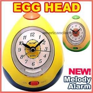 Yellow Egg Head Melody Alarm