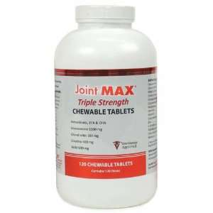 Joint MAX TS (Triple Strength) 120 Chewable Tabs: Pet