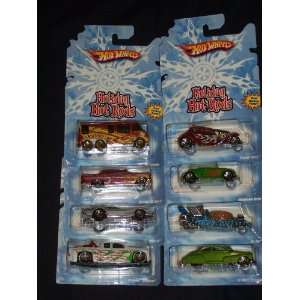 Hot Wheels 2008 Holiday Hot Rods Series 164 Scale Die Cast Metal Car