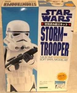 STAR WARS  STORM TROOPER MODEL KIT BY KAIYODO (DJ)