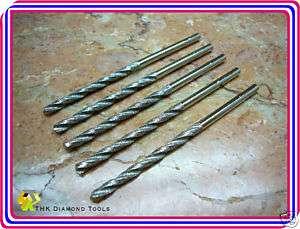 pieces 1/8 inch diamond coated drill core twist bit