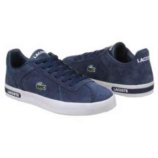 Mens Lacoste Finham White/Dark Blue Shoes