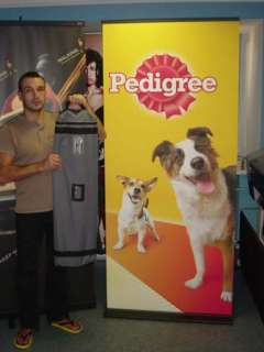 36 PRO Retractable Roll Pop Up Banner Display Stand