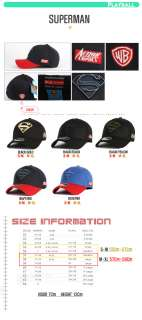 UNISEX FLEXFIT SPANDEX BASEBALL CAP TRUCKER HATS SUPERMAN MARK BLACK