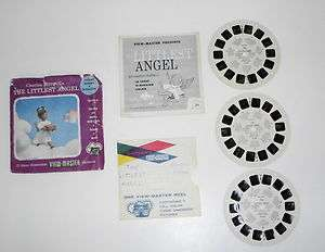 Vintage 1957 The Littlest Angel Christmas Story 3 View Master Reel