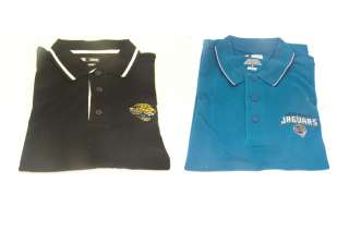 Official NFL Jaguars 3 Button Polo In Two Styles B129
