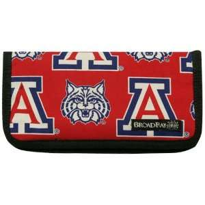 Arizona Wildcats Cardinal Red Logo Print Checkbook Cover