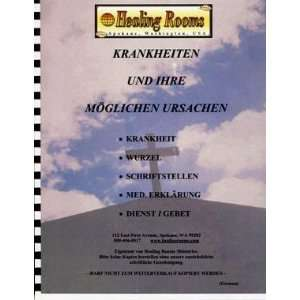 to Specific Diseases (German Version): Healing Rooms Ministries: Books