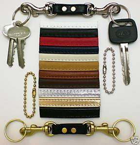 SEPARATING VALET KEY RING FOB FOR COACH BAG / BRIEFCASE