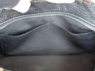 Coach Chelsea black pebbled leather tote #10892 Excellent