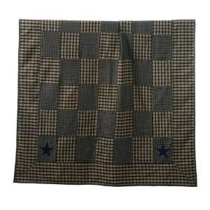 Star Primitive Country Throw Quilt