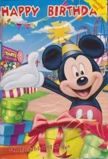 Disney Geburtstagskarte mit Musik   Micky Maus NEU