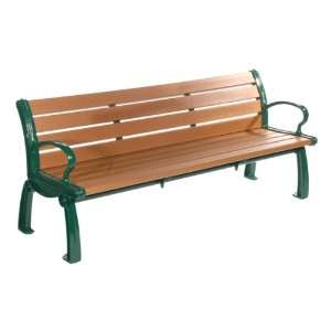 Heritage Recycled Plastic Outdoor Bench 8 L Patio, Lawn & Garden