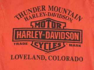 HARLEY DAVIDSON DEALER t shirt COLORADO, S