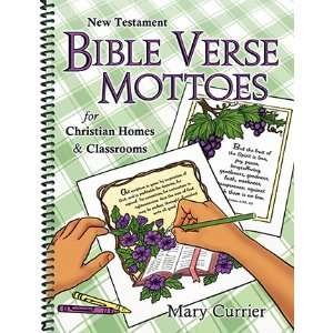 New Testament Bible Verse Mottoes (9780878136902) Mary