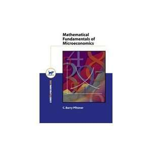 Mathematical Fundamentals of Microeconomics: Books