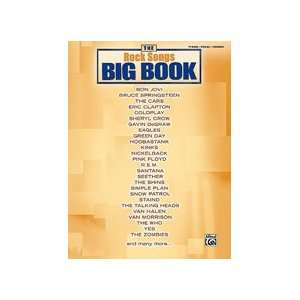 The Rock Songs Big Book   P/V/G Songbook Musical