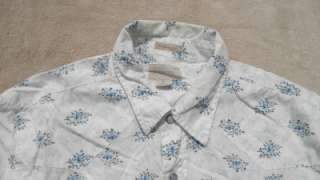 AMERICAN EAGLE VINTAGE FIT BUTTON FRONT SHIRT MENS SZ M