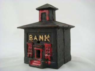 Antique Style Cast Iron Bank Cupola Building Repro
