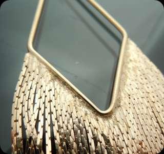 Designer Inspired Gold GP Fringe Chandelier Earrings