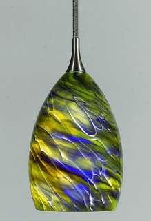Swirl Contemporary Modern Glass Light Pendant Lighting