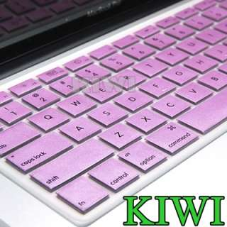 Pink Metallic Keyboard Cover skin for macbook (pro) 13