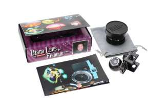 LOMO DIANA F+ CAMERA 20MM FISHEYE LENS FISH EYE 20 MM LOMOGRAPHY