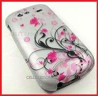GOOGLE NEXUS S 4G SPRINT PINK FLOWERS HARD COVER CASE