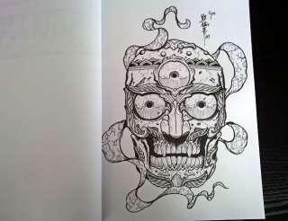 RARE TATTOO FLASH BOOK ART MAGAZINE Vol6 FROM HORIMOUJA |