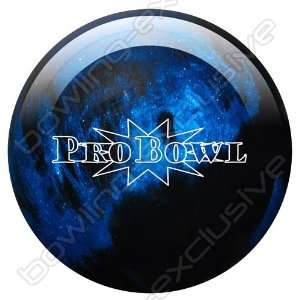 Bowling Ball Ebonite Pro Bowl blue black sparkle  Sport