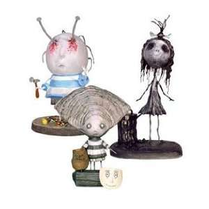 Tim Burton s Tragic Toys PVC Figuren Set #3 Oyster Boy 10 cm (3