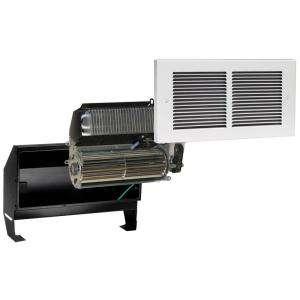 14 in. x 7 3/8 in. Multi Watt 240 Volt In Wall Fan Forced Heater White