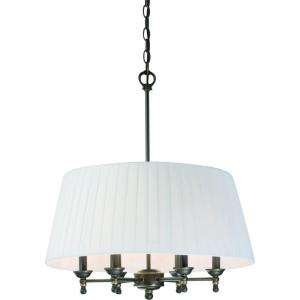 Hampton Bay Parker Ridge 6 Light Tarnished Bronze Pendant HD396027 at