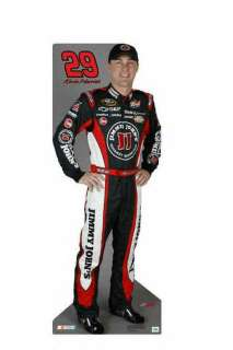 NASCAR Life Size Standup   Kevin Harvick #29 with FREE BONUS