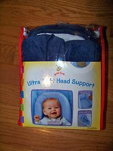 Gold Bug Ultra Soft Head Support Navy Blue   Used
