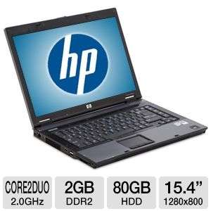 HP Compaq 8510p Business Notebook PC   Intel Core 2 Duo 2.0GHz, 2GB