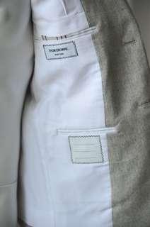 THOM BROWNE CASHMERE Blazer Jacket Coat Arm Stripe 38