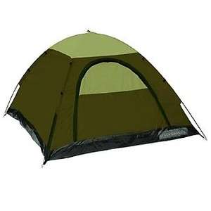 Hunter Buddy 2 Person Forest/Tan 3 Season Camping Backpacking Tent